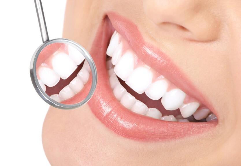 Teeth reflection