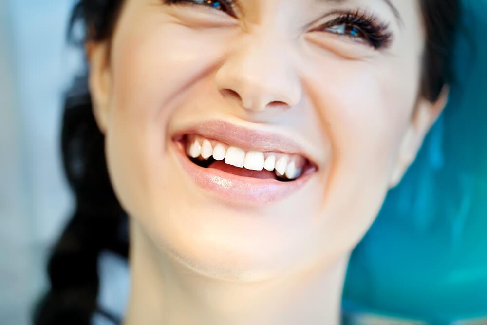 Beatiful woman smiling